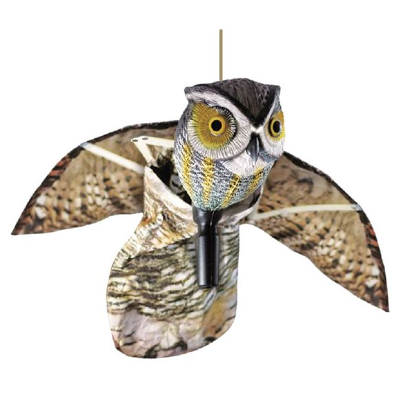Buho volador. Anti-pájaros