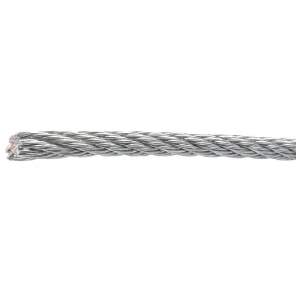 CABLE ACERO GALV. 6x7 4MM.X25M.