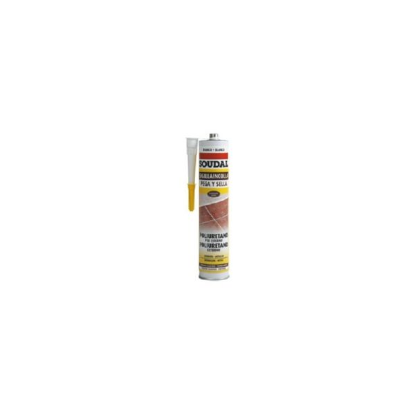 MASILLA PU SOUDAL PU  MARRON 300ML