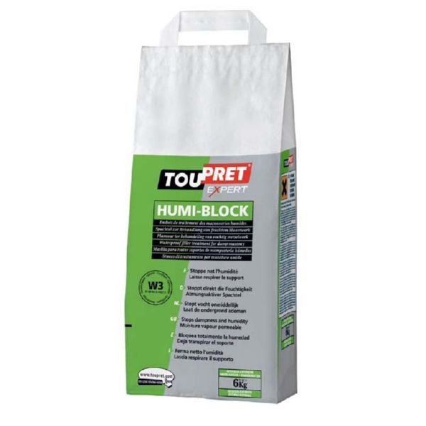TOUPRET HUMI-BLOCK INT/EXT. 6 KG.