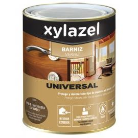 XZ BARNIZ UNIVERSAL SATINADO NOGAL 750ML.